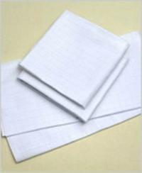 Pleny bílé 70x70cm, balení 10 ks