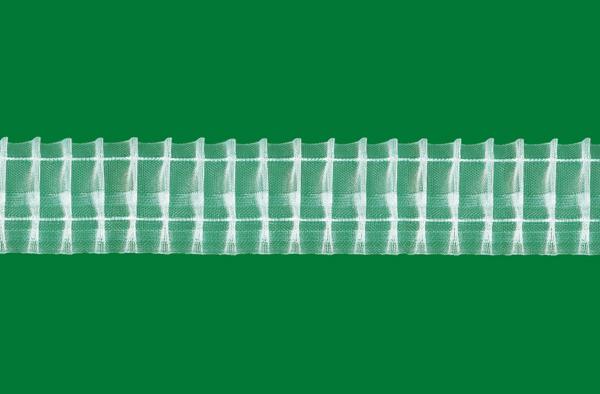 Řasící stužka na záclony , řasí v poměru 1:2, šíře 5cm