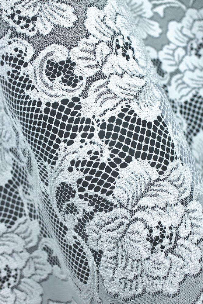 Dorotka, krátká bílá záclona
