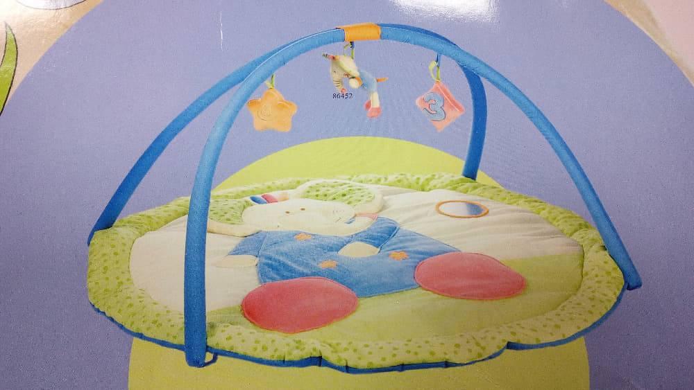 Hrací deka s hrazdou slon