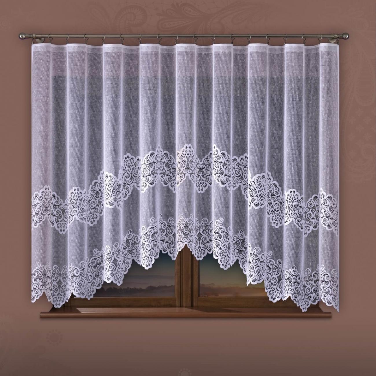 Aloizie, kusová záclona