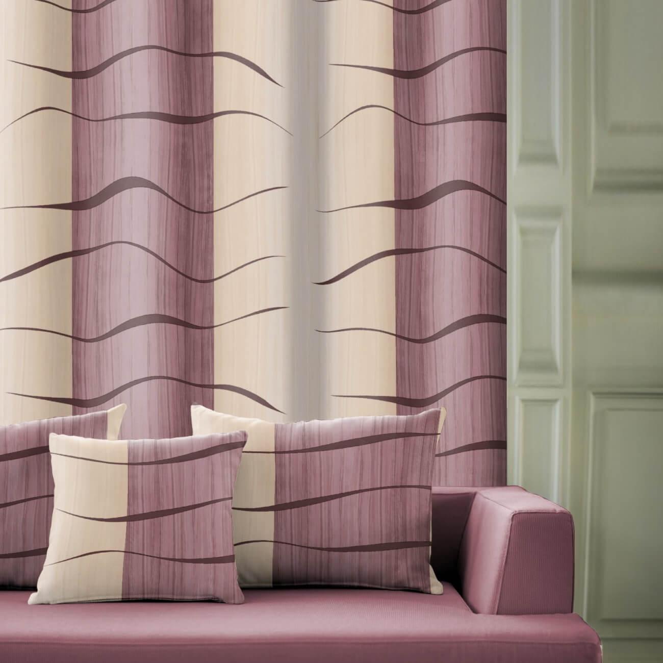 Architekt fialový, závěsovina