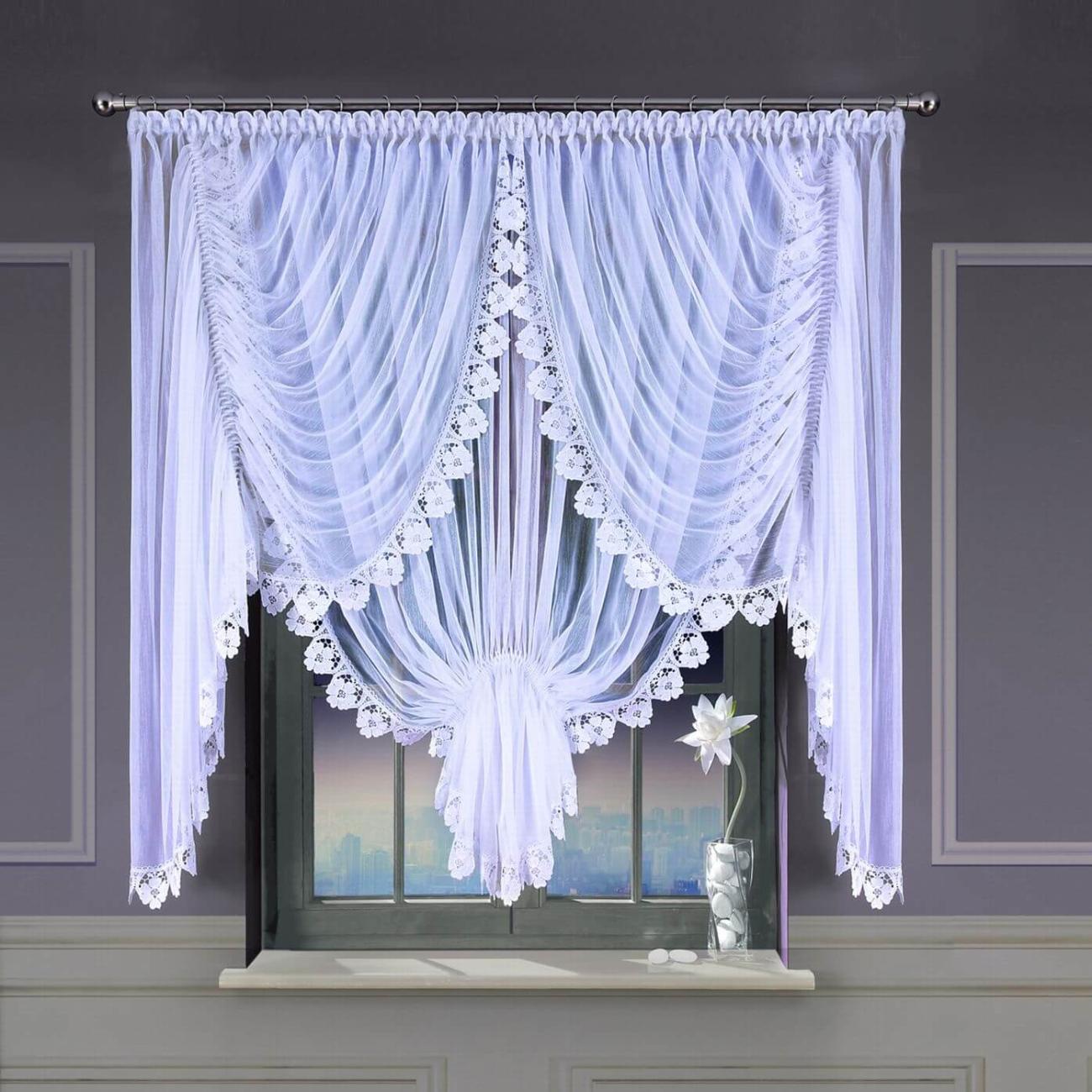 Arianna, sablé záclona