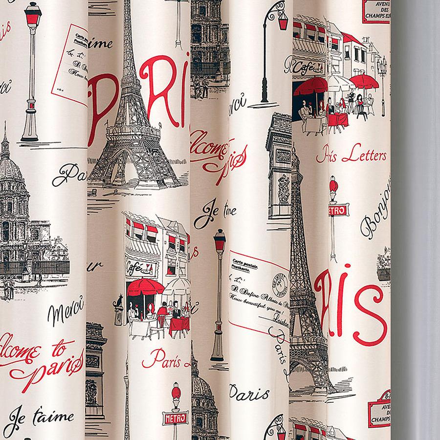 Paris red, závěsovina