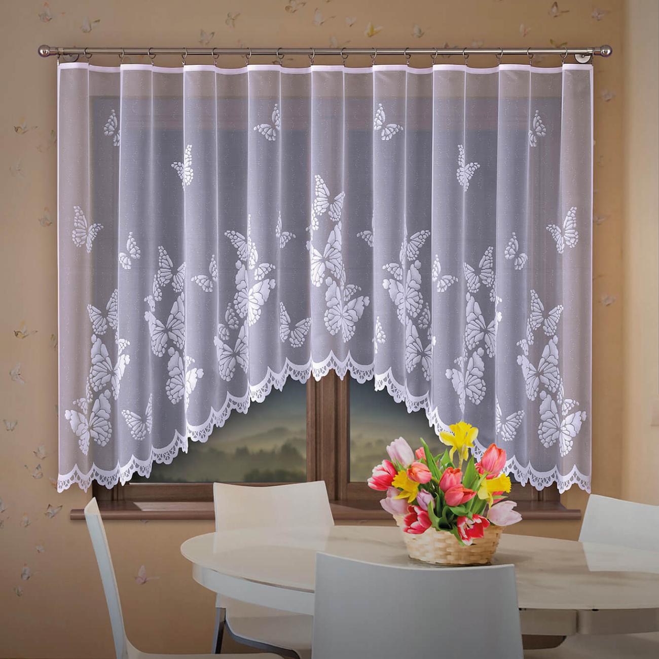 Butterflies , záclona