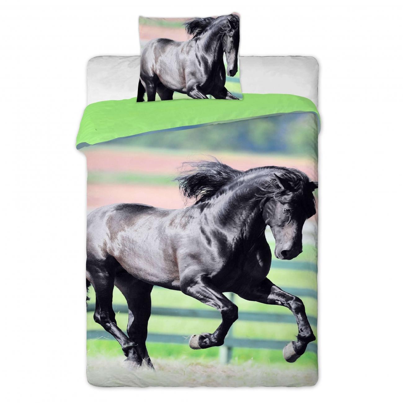 Černý kůň, povlečení