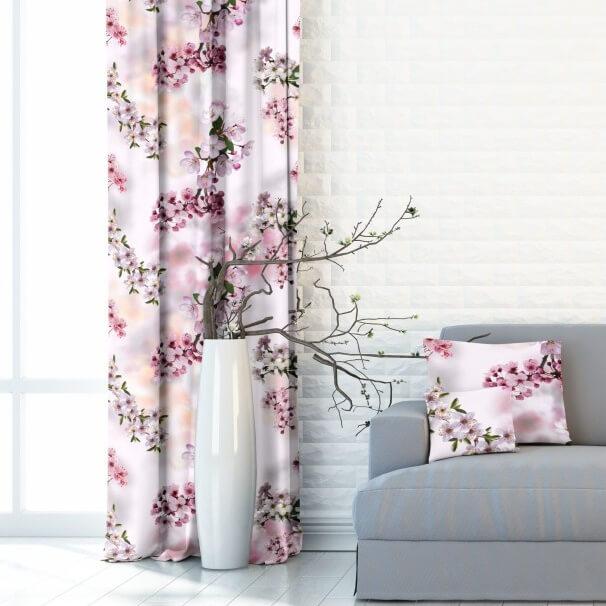 Cherry blossom lilac, závěs