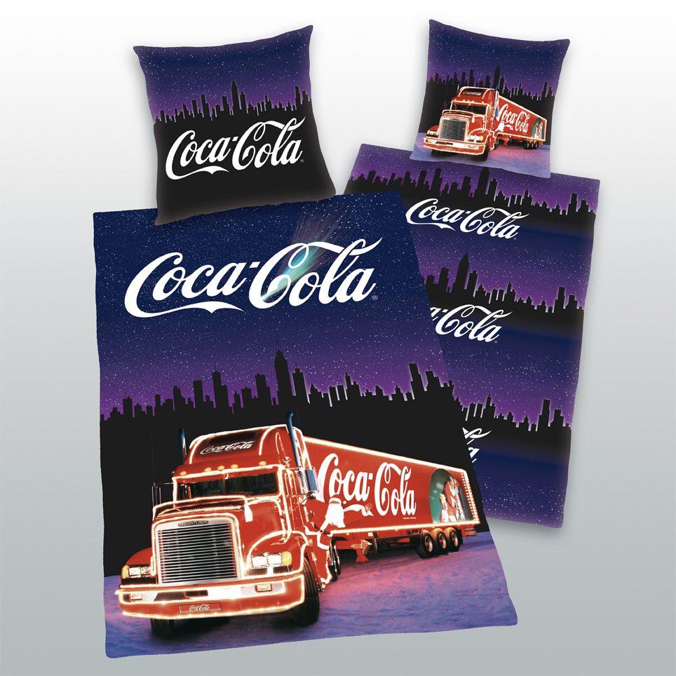 Coca Cola kamion, povlečení