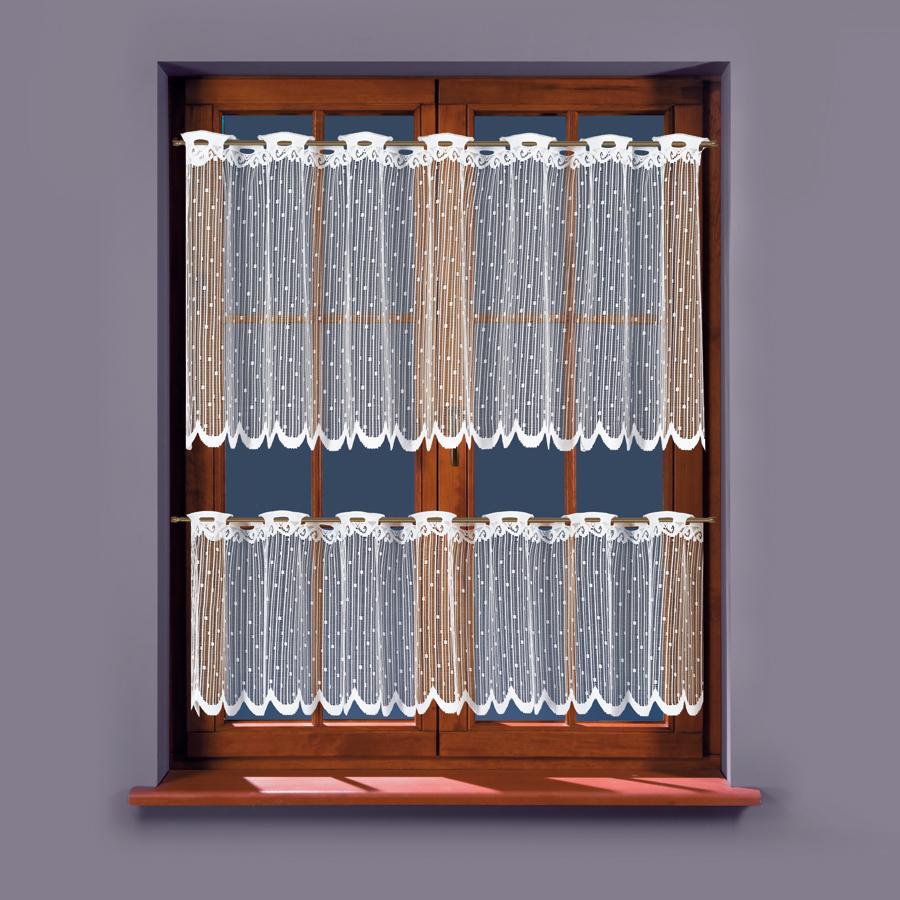 Dorka, vitrážová záclona