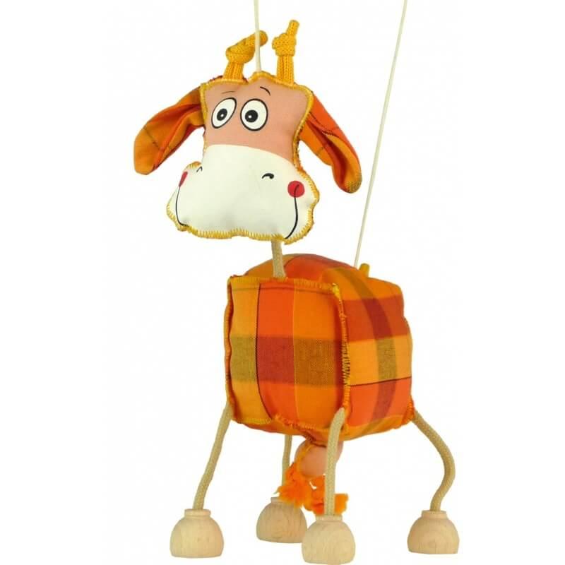 Funky kravička, textilní hračka