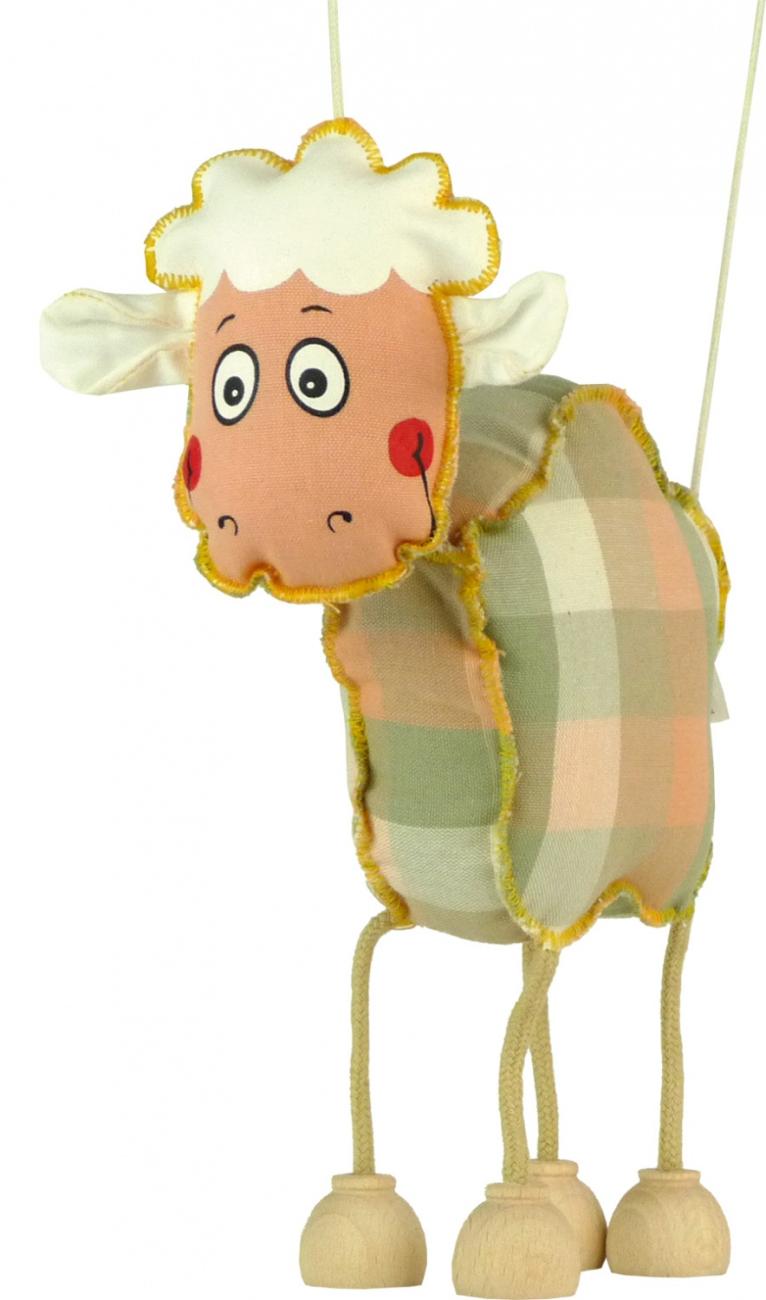 Funky ovečka, textilní hračka