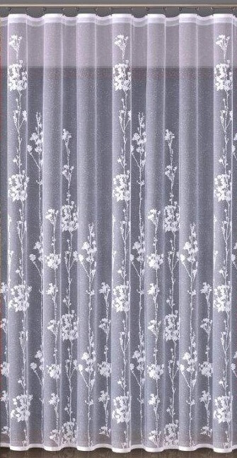 Arida, bílá záclona