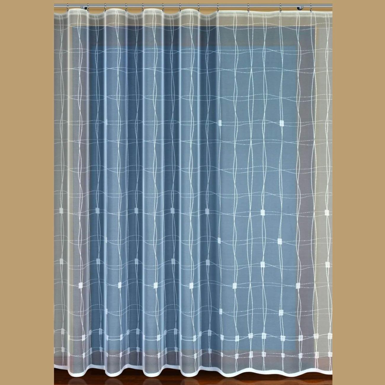 Heda, hotová záclona