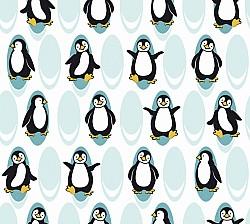 Tučňáci, zatemňovací závěs