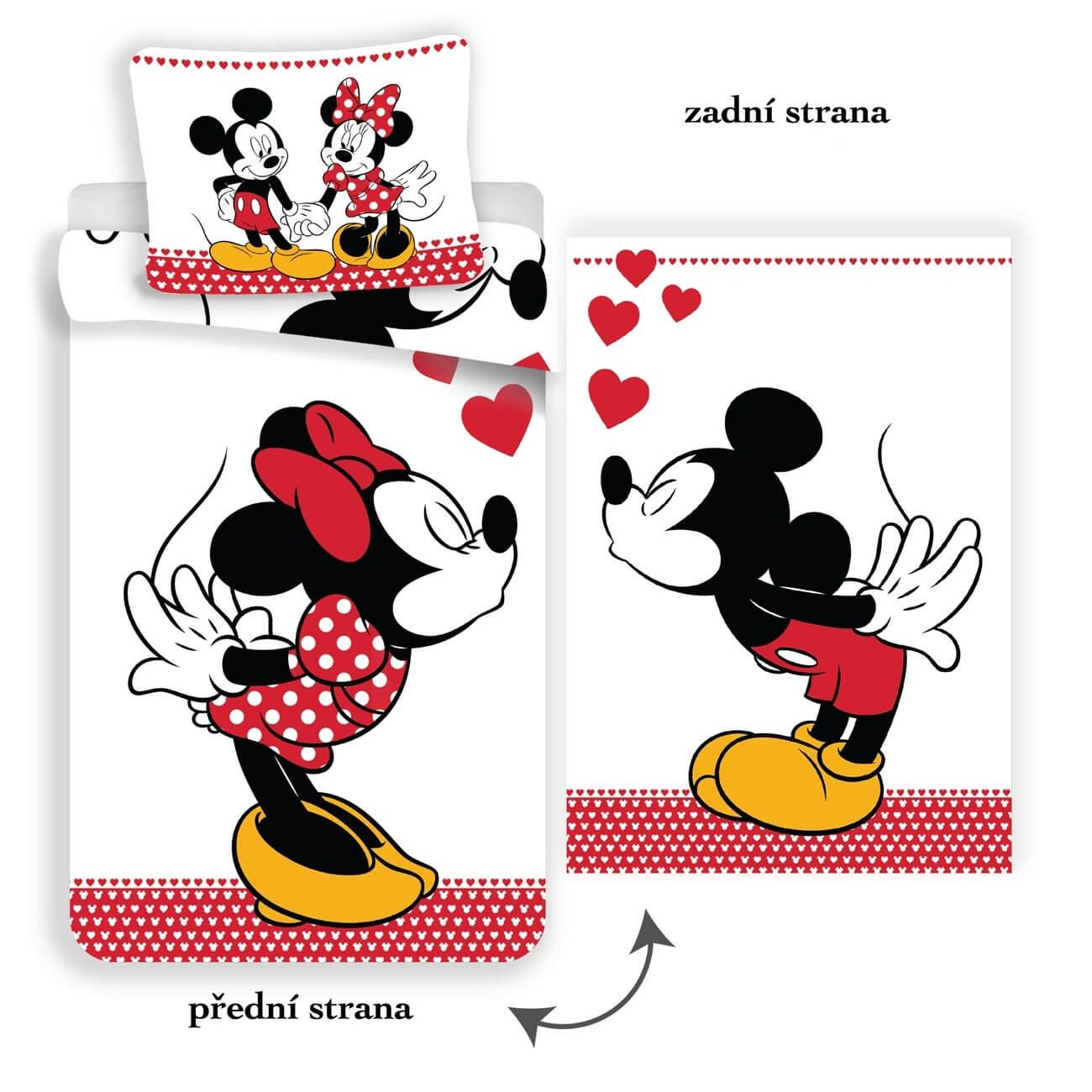 Mickey and Minnie in love NEW, povlečení
