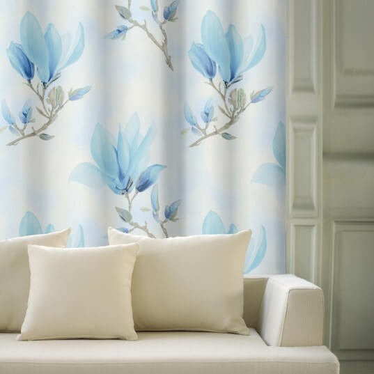 Magnolie velká modrá, zatemňovací závěs