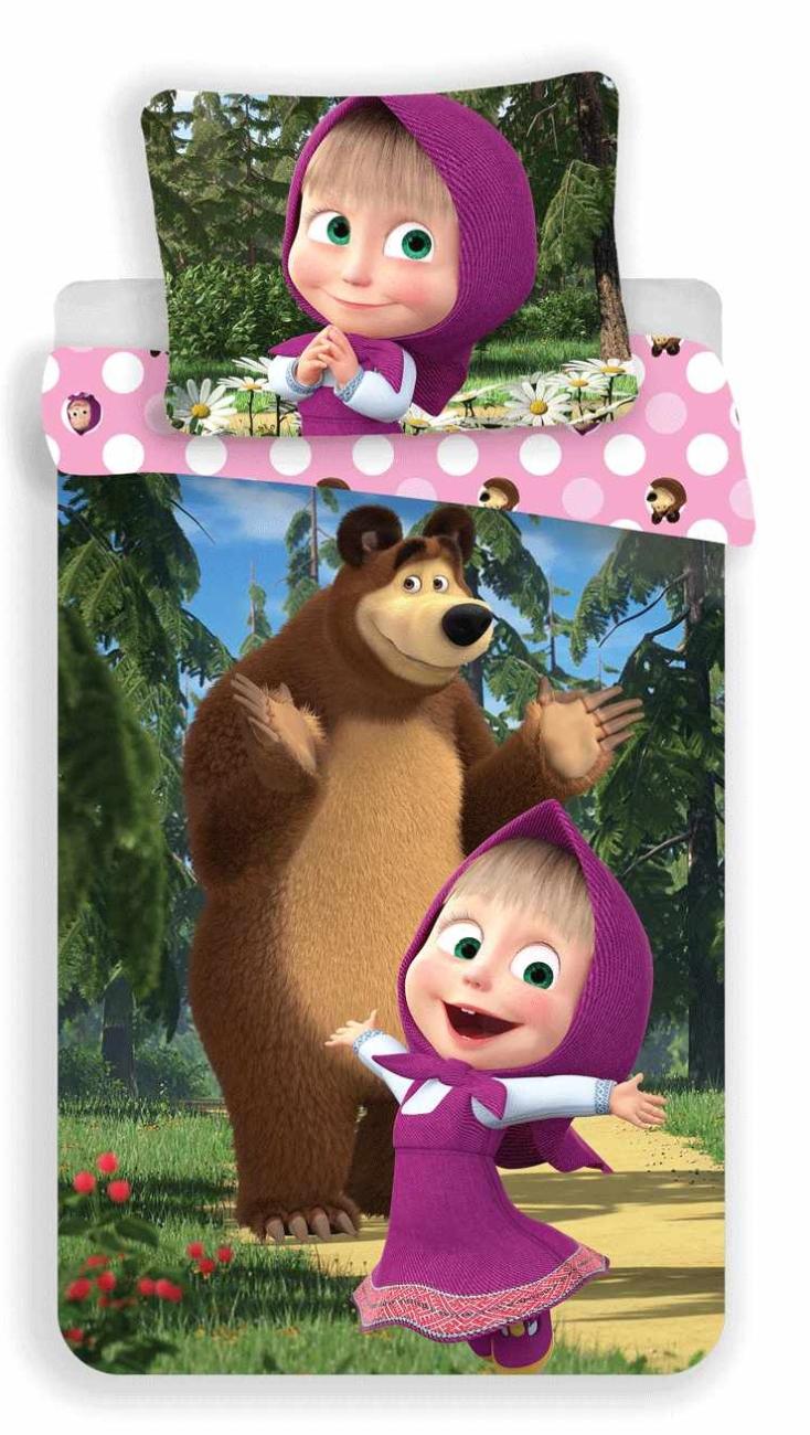 Máša a Medvěd, povlečení