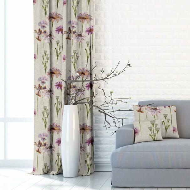 Meadow lilac, zatemňovací závěs