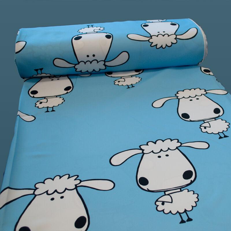 Ovečky modré, závěsovina