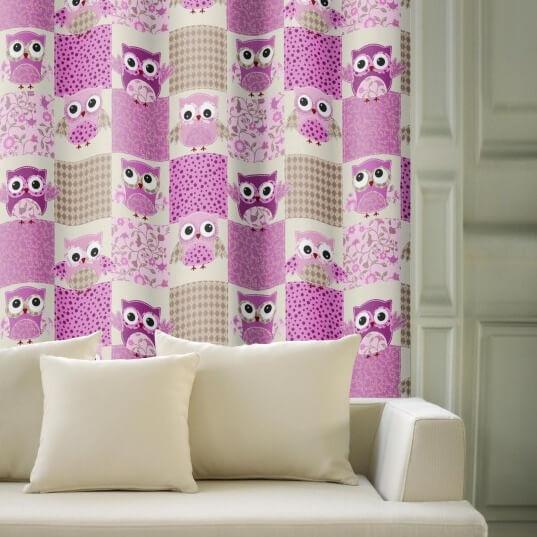 Owls patch, zatemňovací závěs
