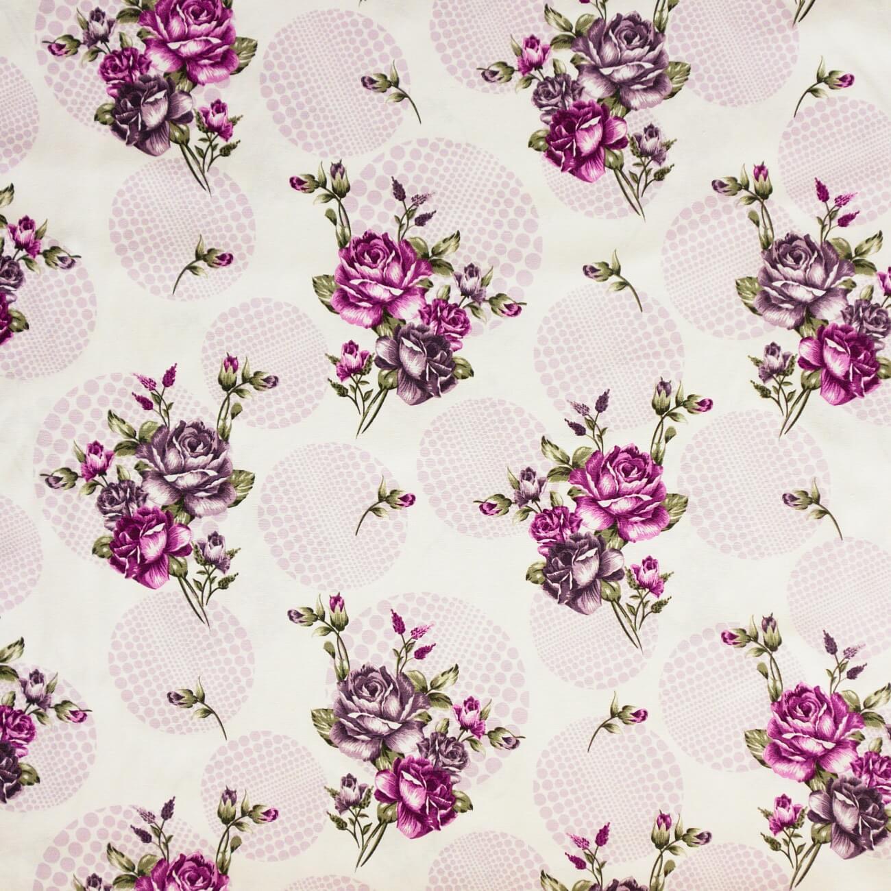 Rozeta fialová, závěsovina