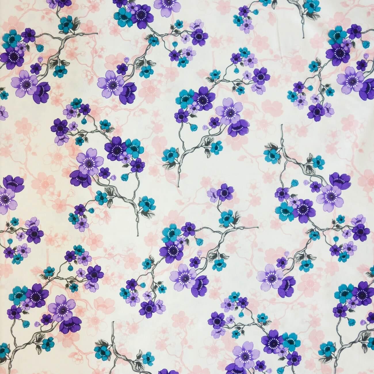 Rubina fialová, závěsovina