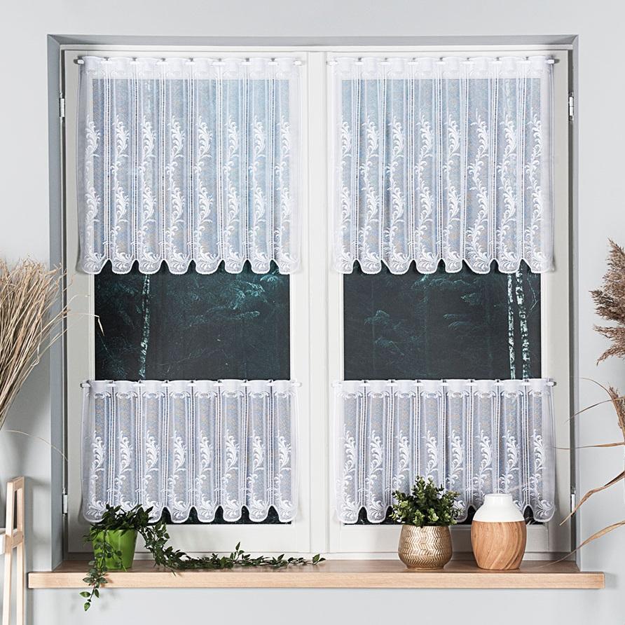 Timea, vitrážová záclona